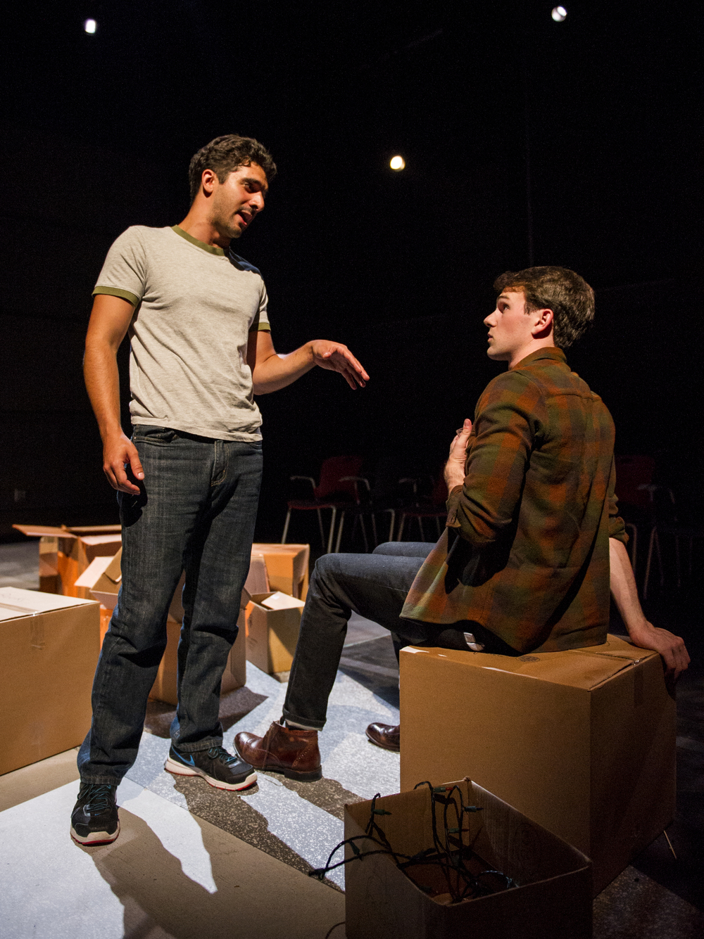 Jacob Perkins' Where Have You Gone? (2016, Williamstown Theater Festival)
