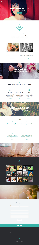 Styles by Misty Dawn ➔ Web Design