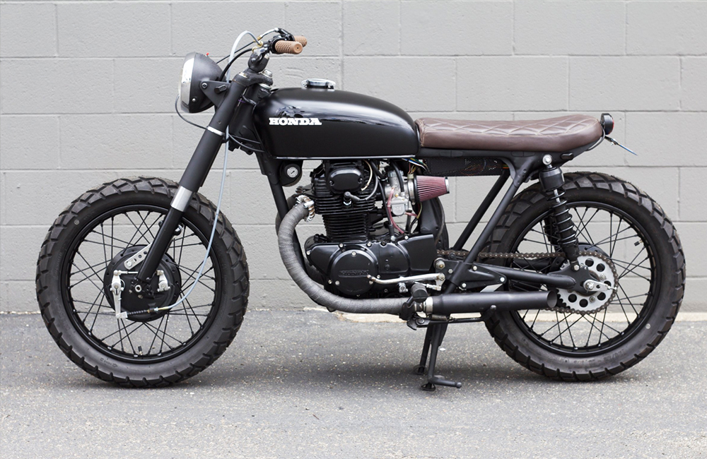 """Honda CB350 """"Mug Shot"""""""