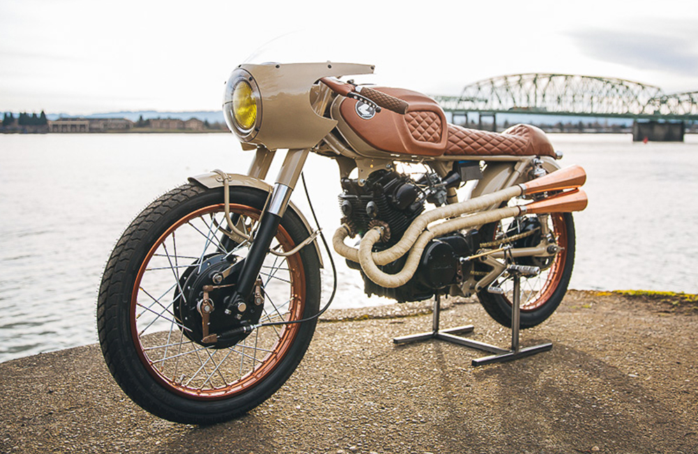 "Honda CB160 ""Penny Racer"""