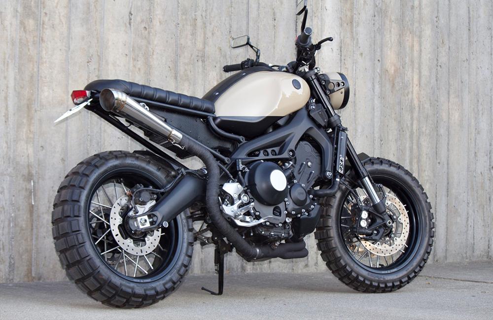 "Yamaha XSR900 ""Mogster"""
