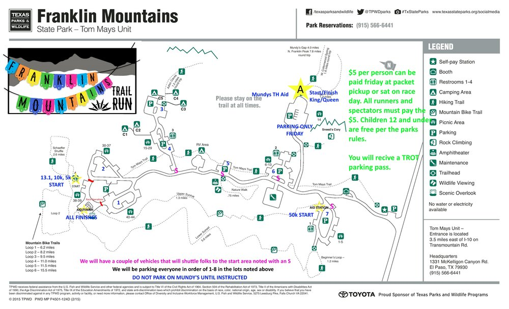 Franklin Mountains Trail Run, Texas Mountain Trail Race, Texas Sky Race
