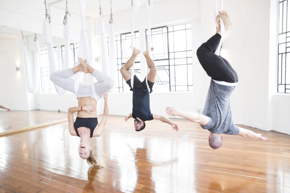 Private Sessions & Events - AERIAL YOGA HENS EXPERIENCE | TEAM BUILDING SESSIONS