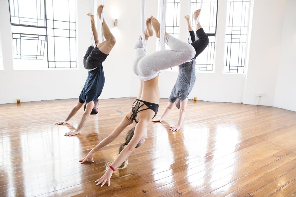 Aerial Yoga Ten Week Courses -