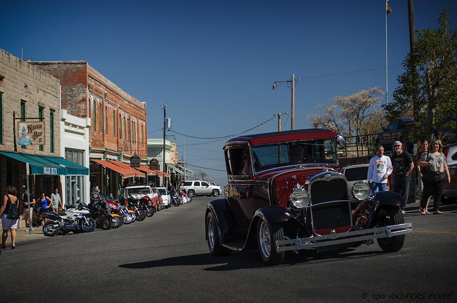 Street in Jerome, AZ