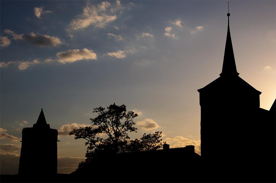 Bautzen - silhouette