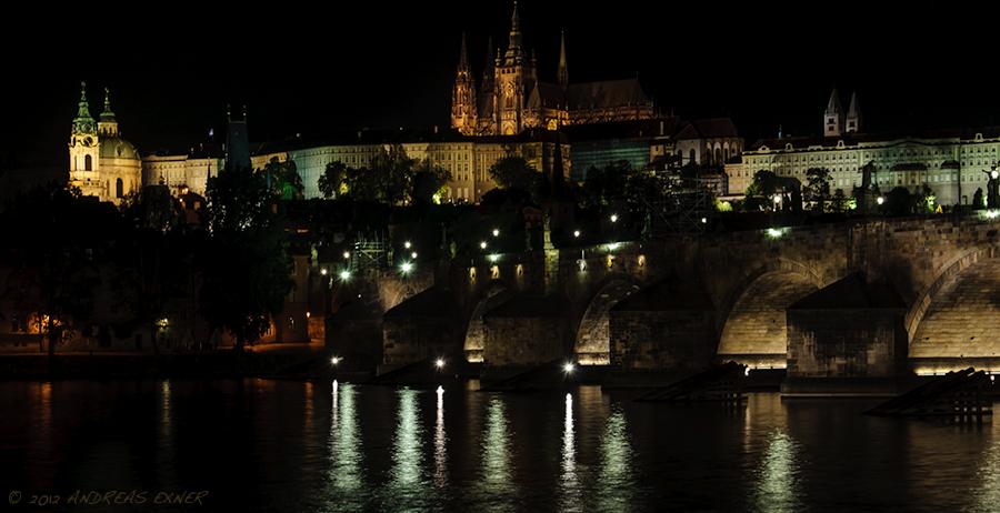 Prague at night 3