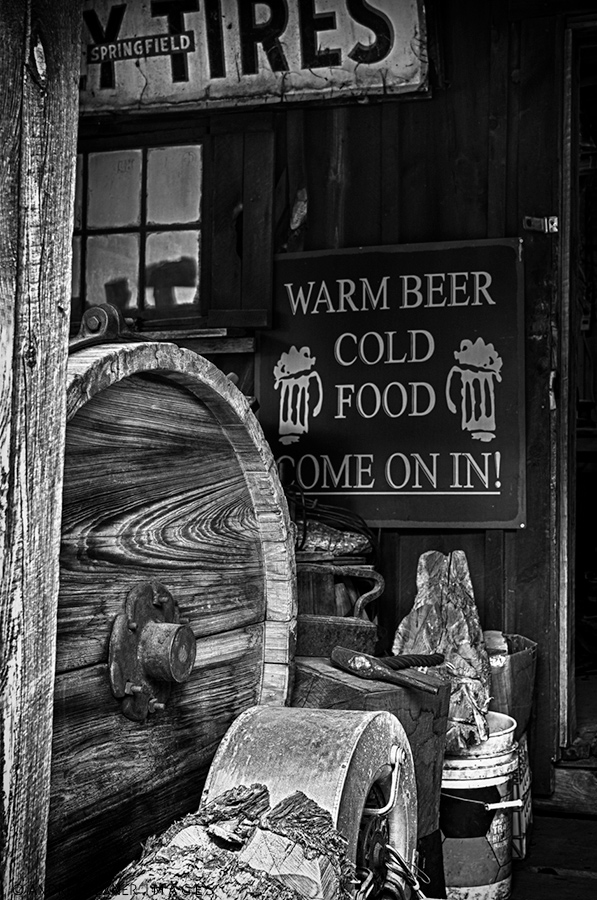 Warm beer - cold food