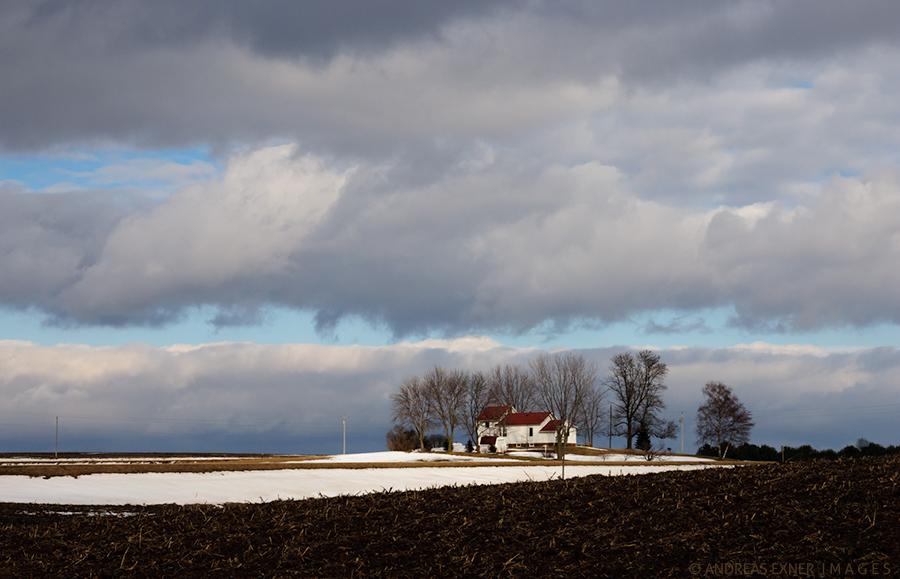 Farm house on the hill