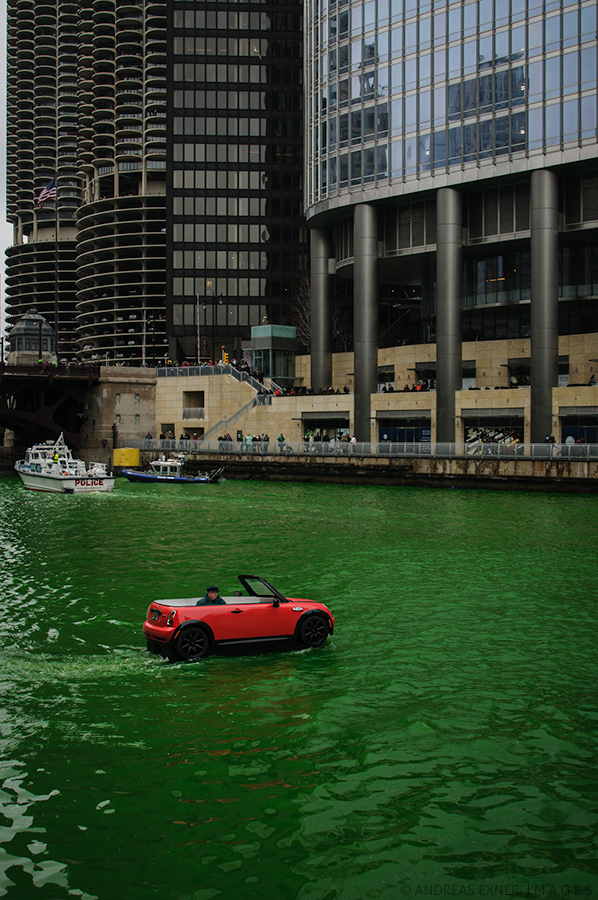 Green Chicago River 2