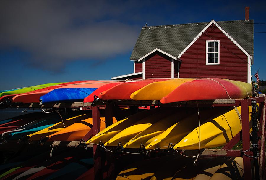 Kayak rental place