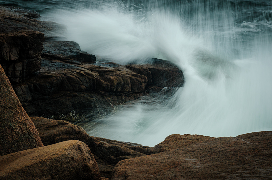 Surf, Acadia National Park