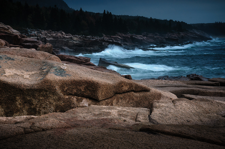 Acadia, rocky coast