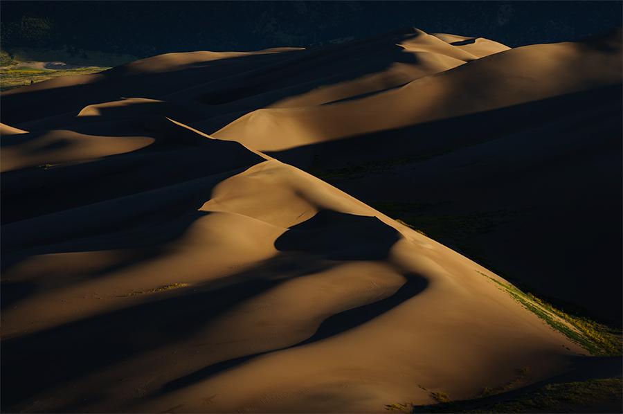 Sunrise in the dunes 2