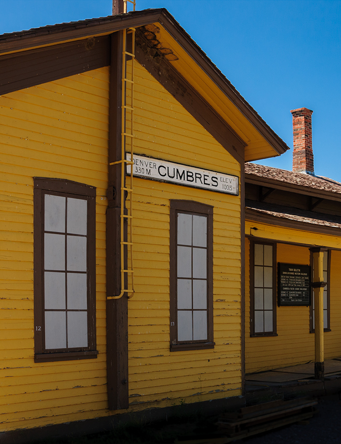 Train station at Cumbres Pass