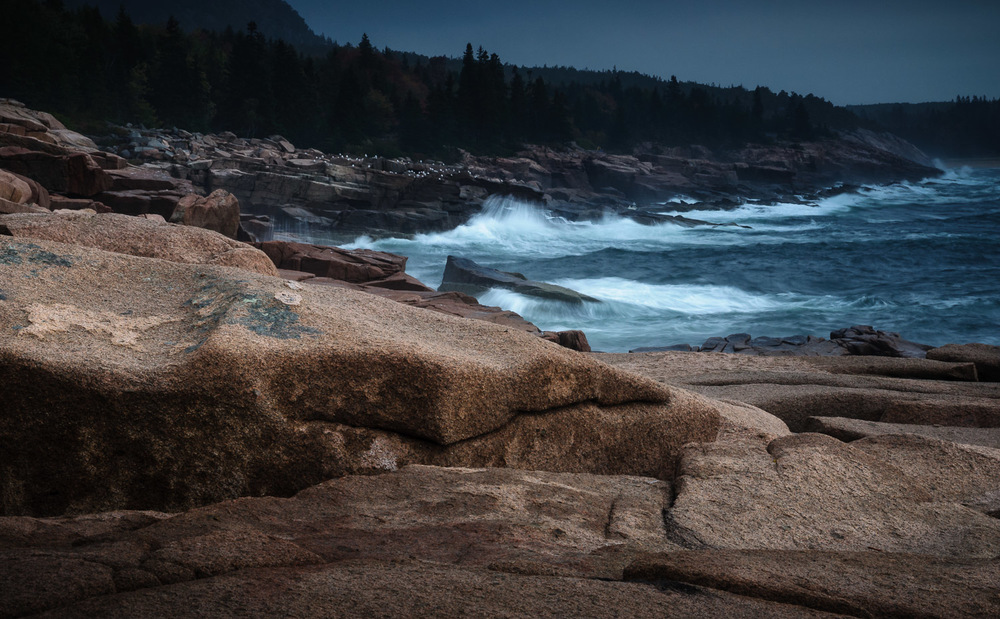 Stormy day, Acadia National Park