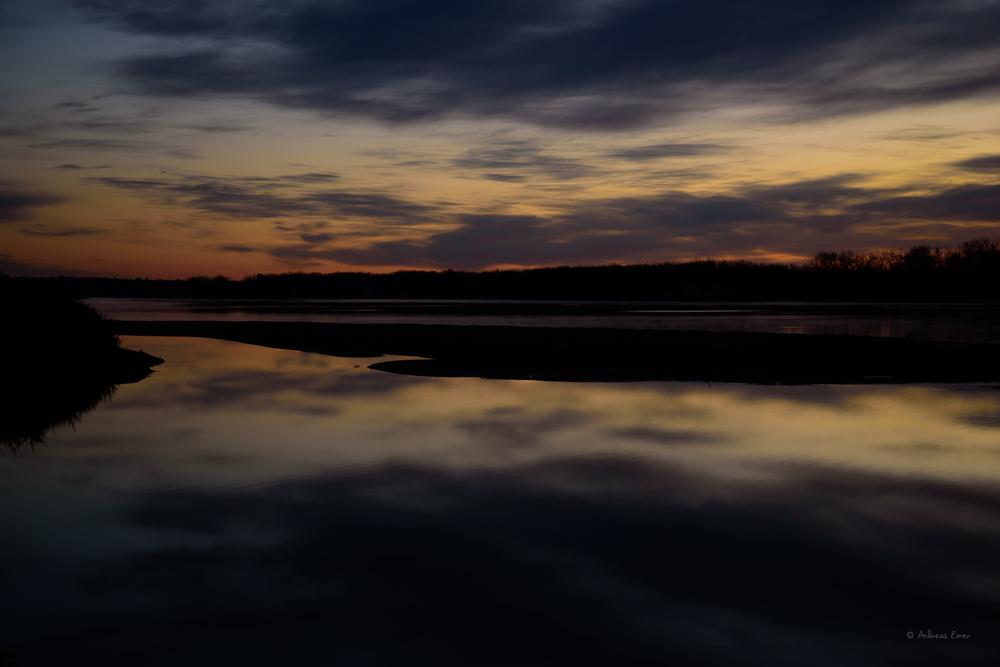 Missouri River, near Bismarck, North Dakota
