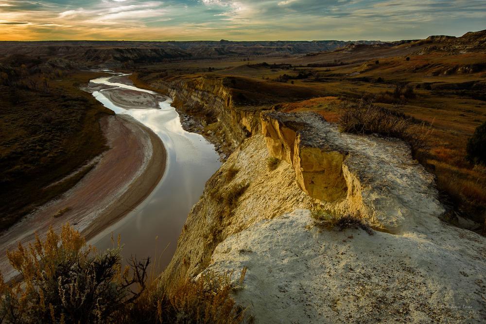 Little Missouri River, North Unit Theodore Roosevelt National Park, North Dakota