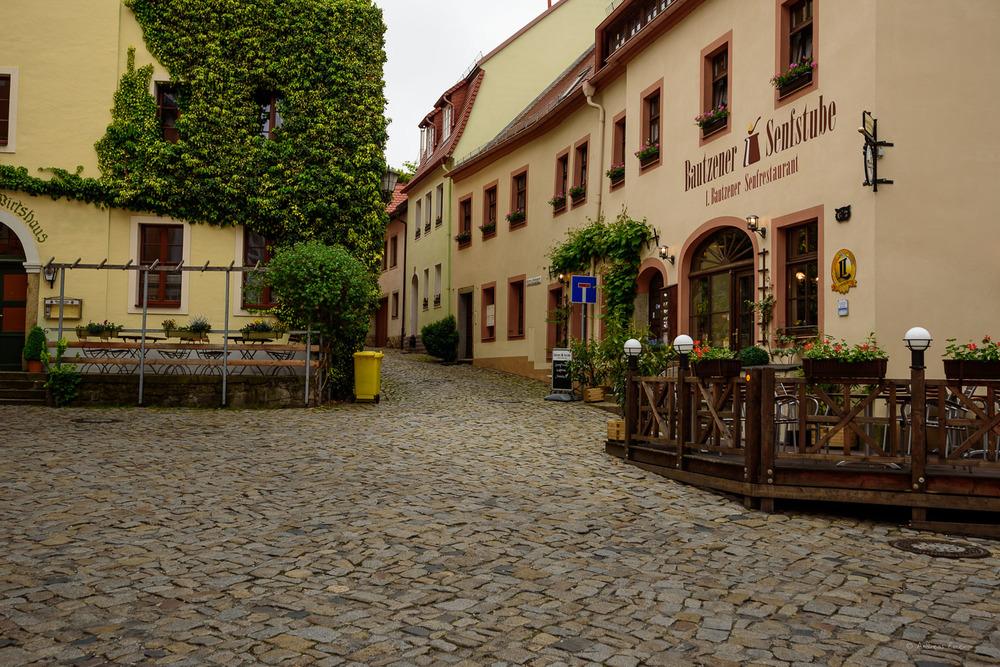 Bautzen, Saxony, Germany - Schloßstraße / Hintere Brüdergasse