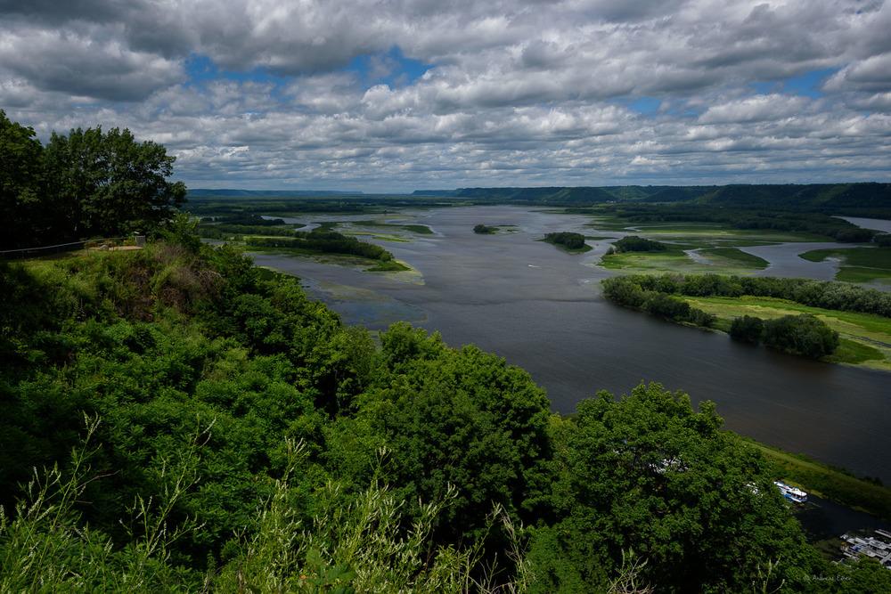 Mississippi River, Lansing, Iowa