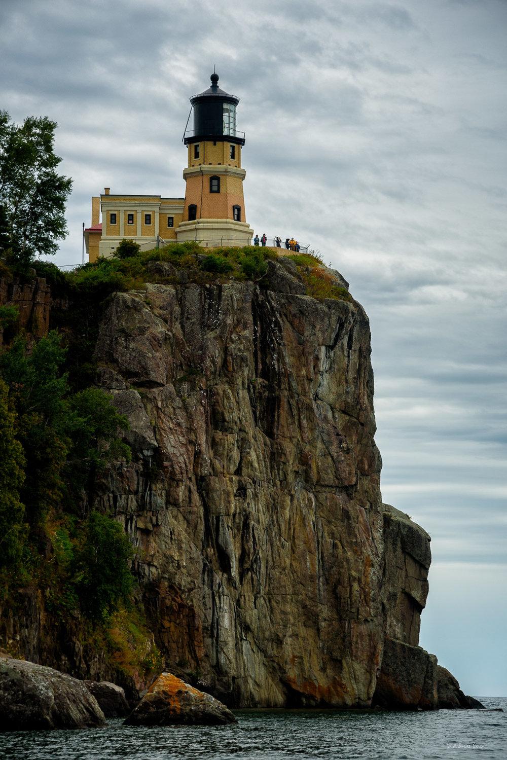 Split Rock Lighthouse, Two Harbors, Minnesota, put into service in 1910