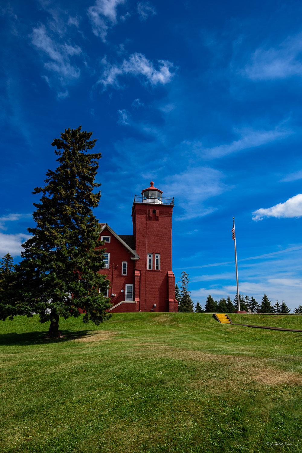 Agathe Bay Lighthouse, Two Harbors, Minnesota