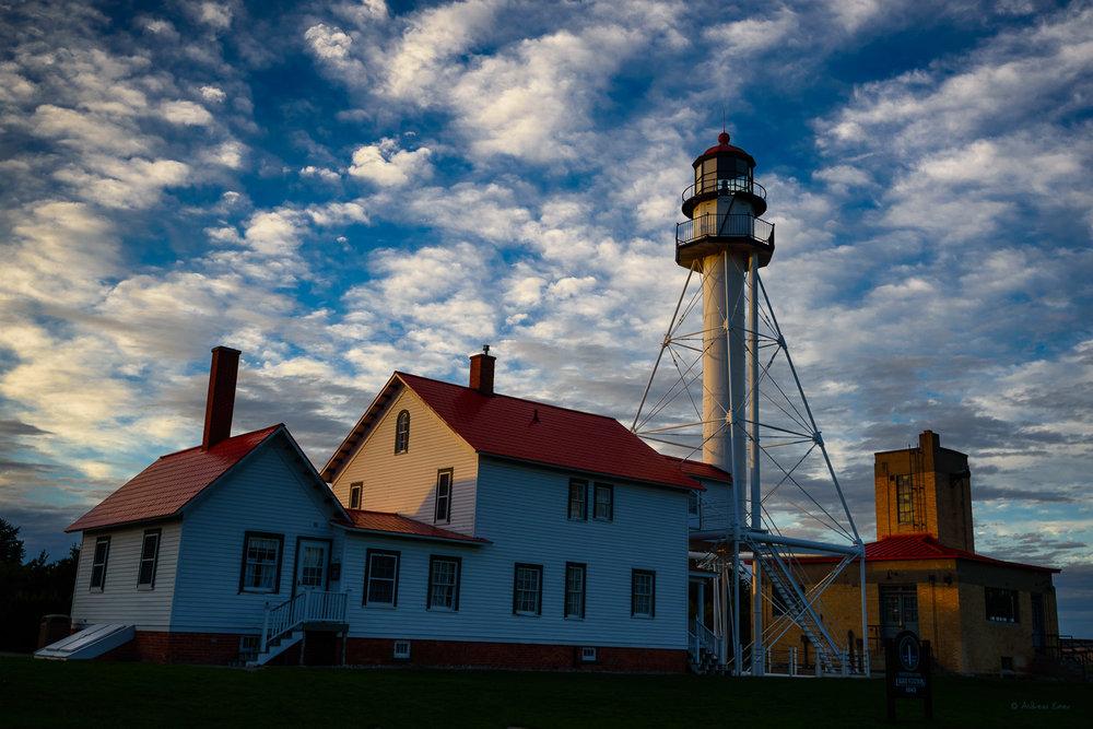 Whitefish Point Light, Lake Superior, Michigan