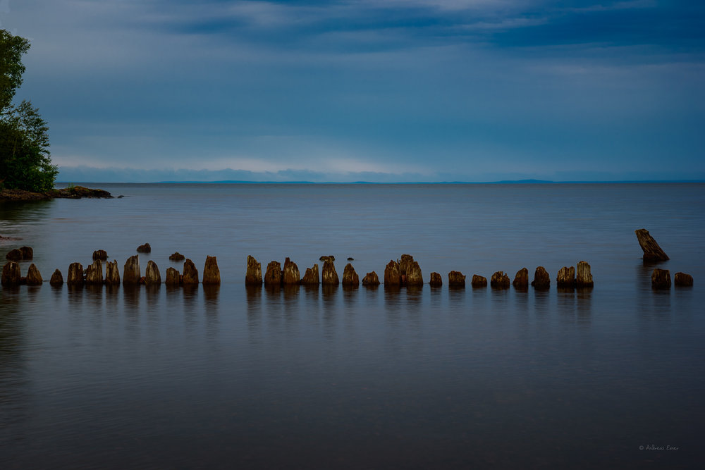 Lake Superior, Split Rock Light House State Park, Minnesota, August 2016