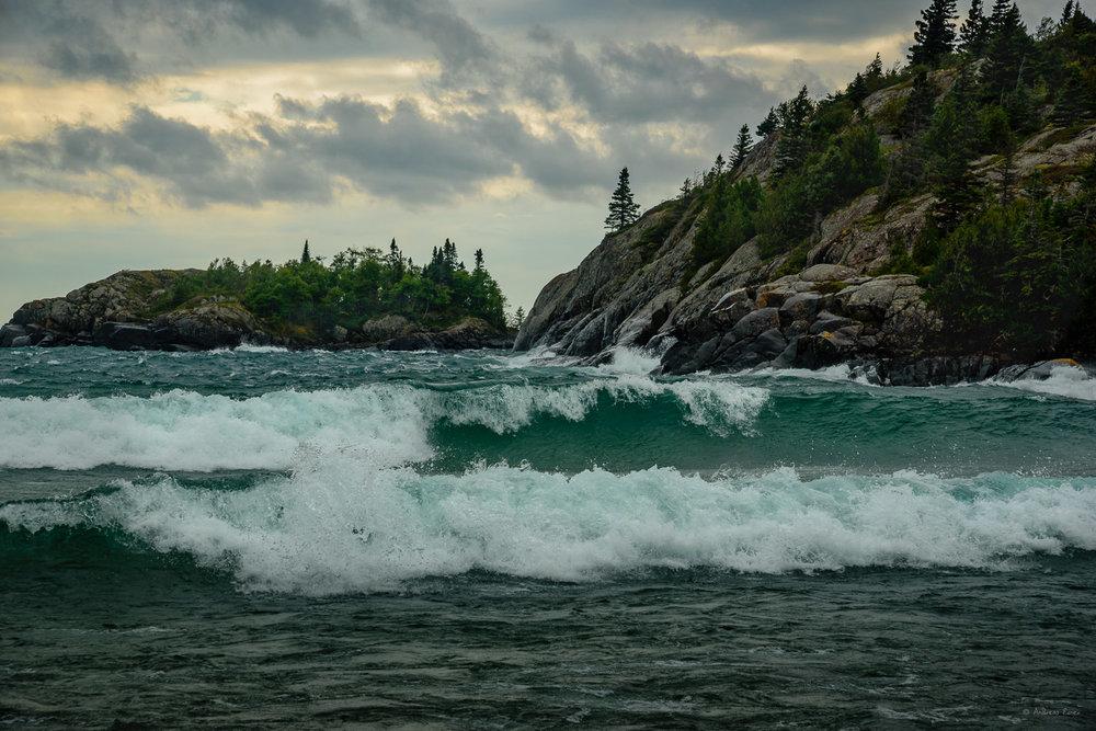 Lake Superior, Pukaskwa National Park, Ontario, Canada ----