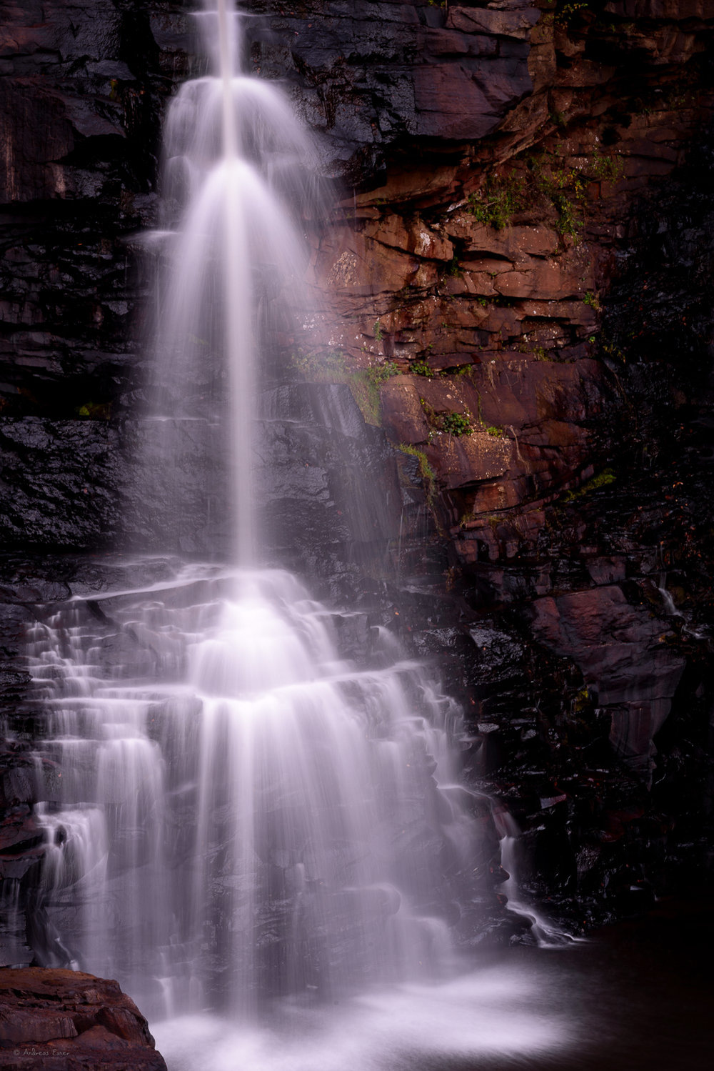 Blackwater Falls (partly), Blackwater Falls State Park, West Virginia
