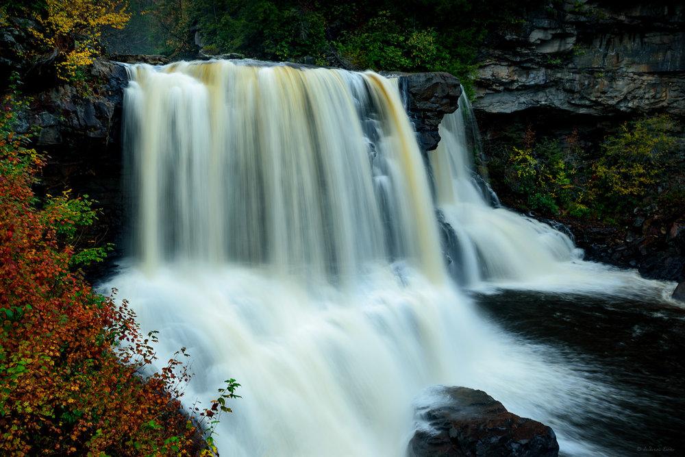 Blackwater Falls, Blackwater Falls State Park, West Virginia -------