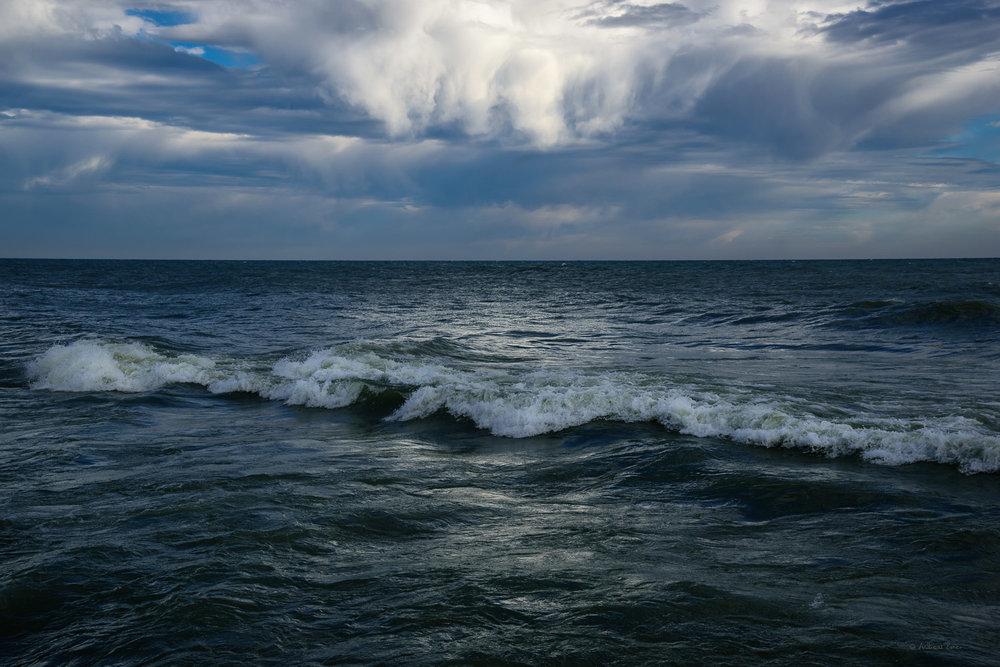 Lake Michigan, White Dunes State Park, Door County, Wisconsin --------