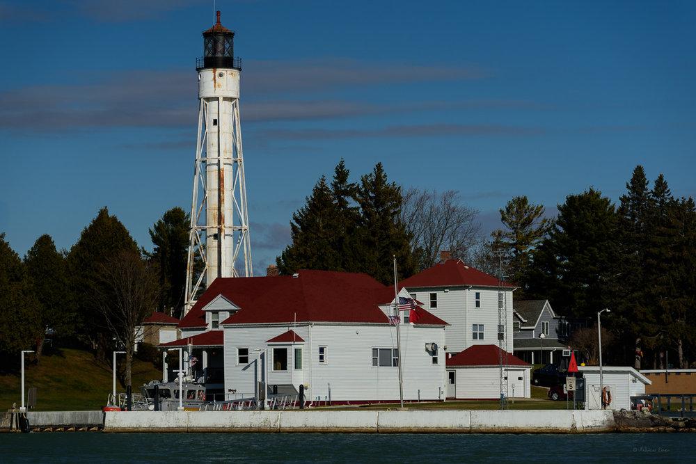 Sturgeon Bay Ship Canal Lighthouse, Lake Michigan, Wisconsin