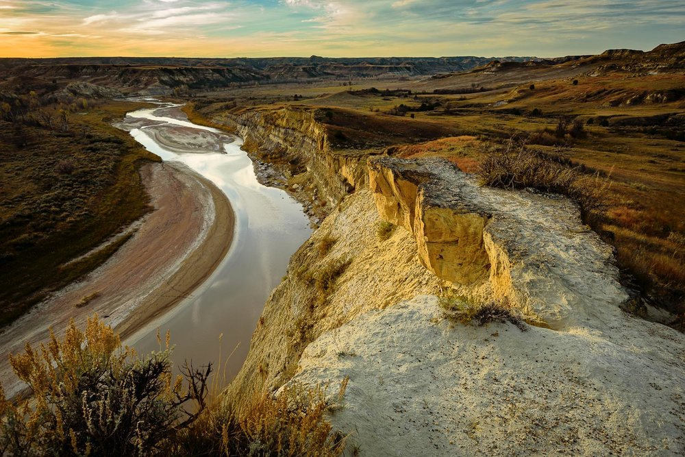 Little Missouri River, Theodore Roosevelt NP- South unit, ND