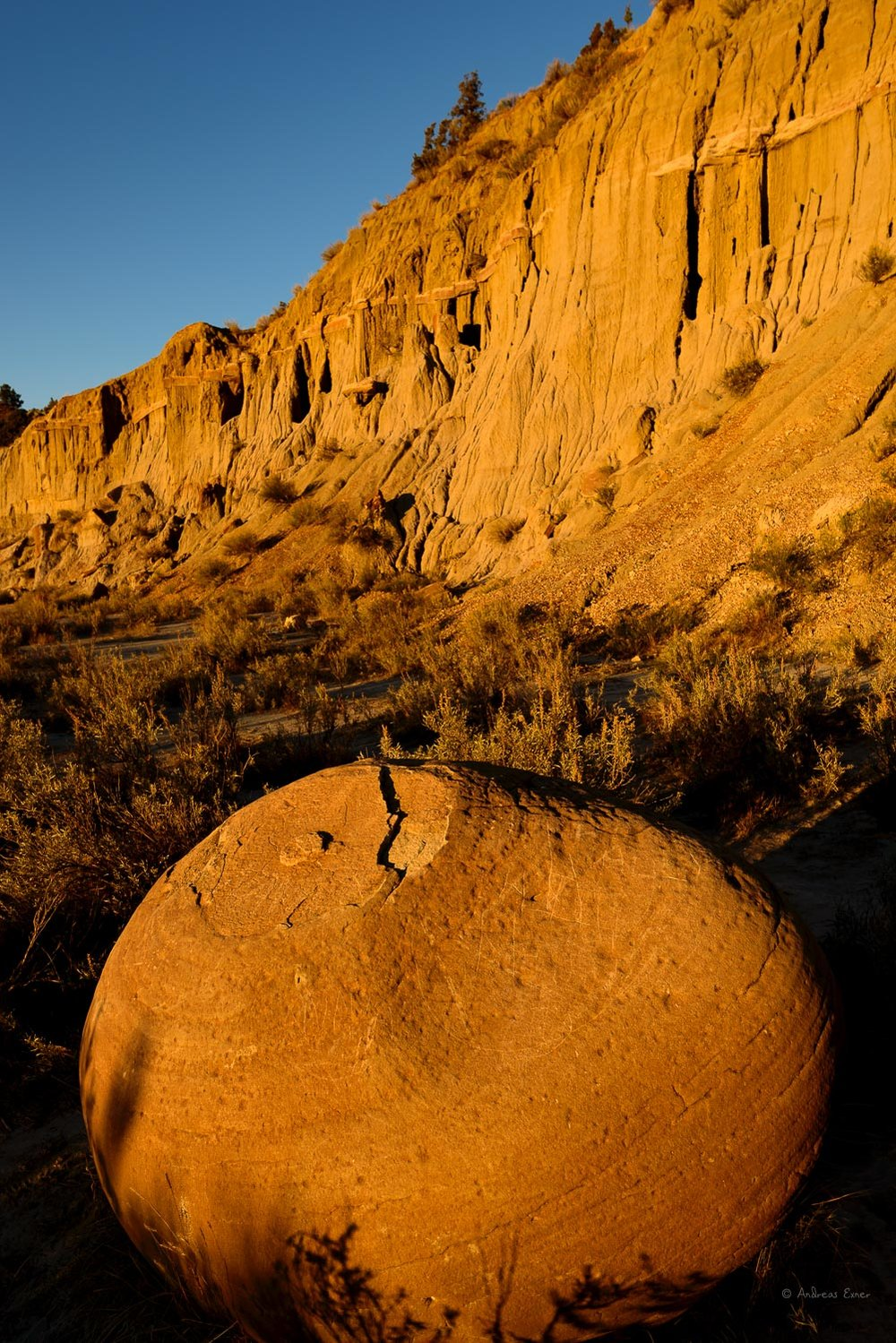 Canonball Concretions, Theodore Roosevelt NP- North unit, ND