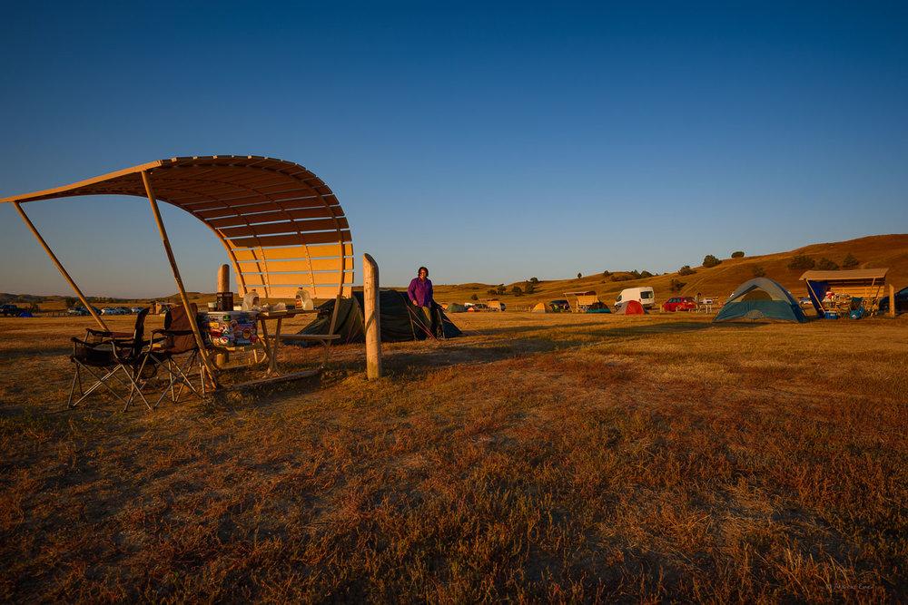 Sage Creek Campground, Badlands NP, South Dakota