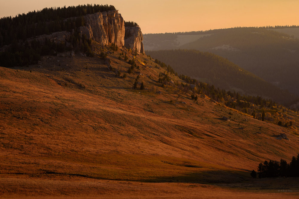 Sunrise in the Bighorn Mountains, Wyoming
