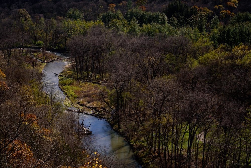Paint Creek, Yellow River State Forest, Allamakee County, Iowa
