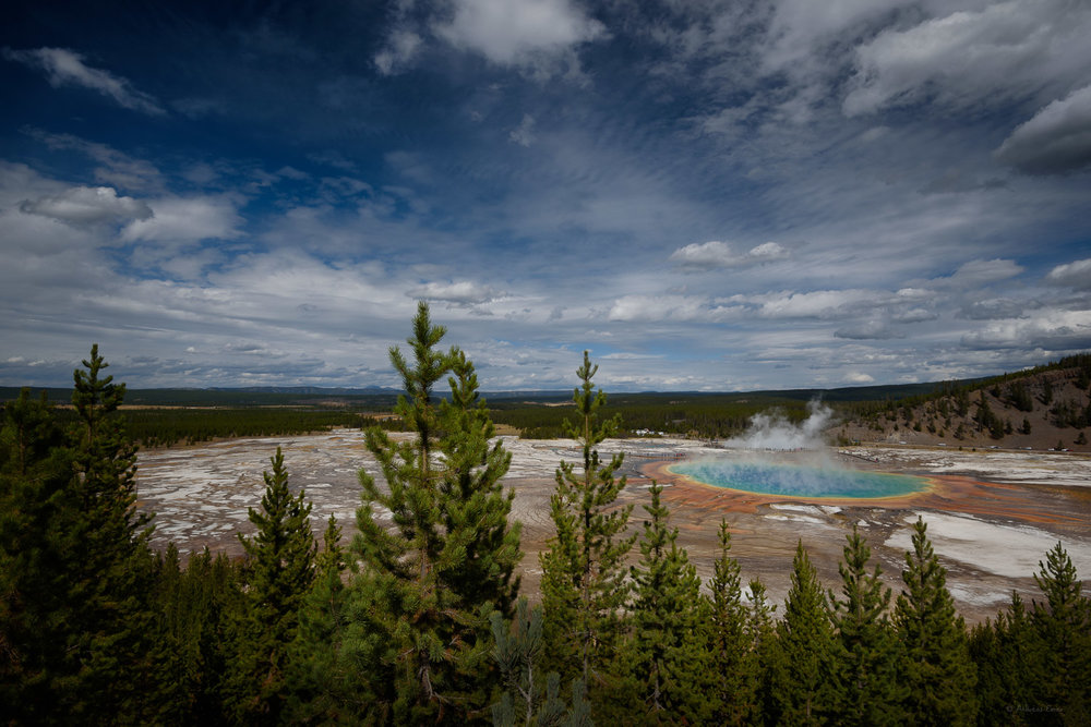 Grand Prismatic Spring, Yellowstone NP, Wyoming