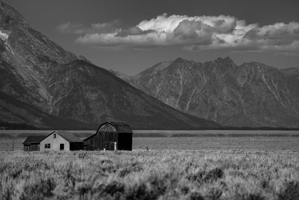 Homestead, Antelope Flats, Grand Tetons, Wyoming