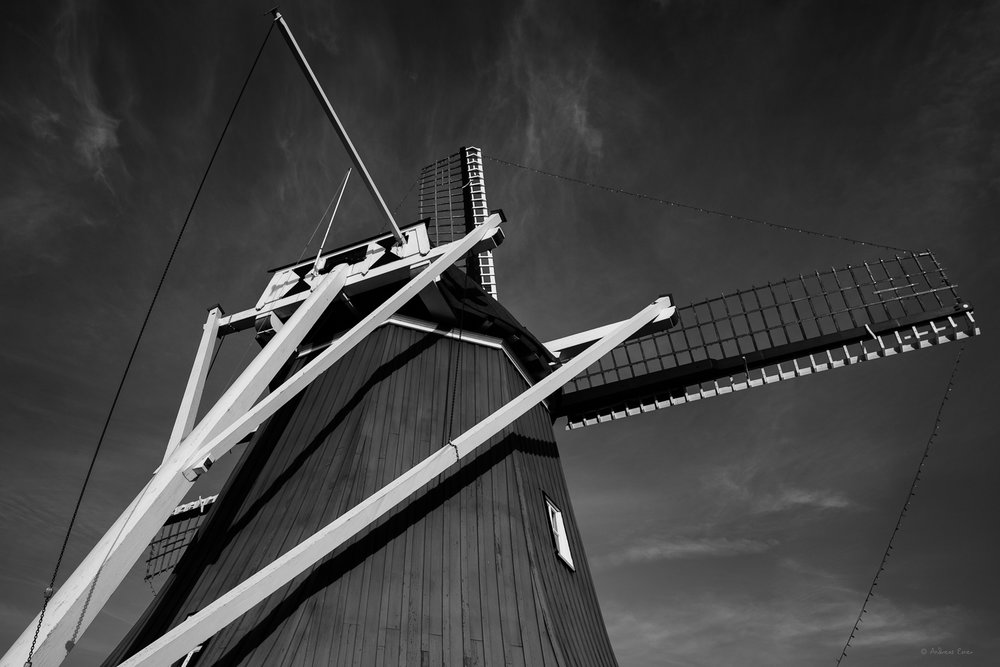 """De Immigrant"" Windmill, Fulton, Illinois"