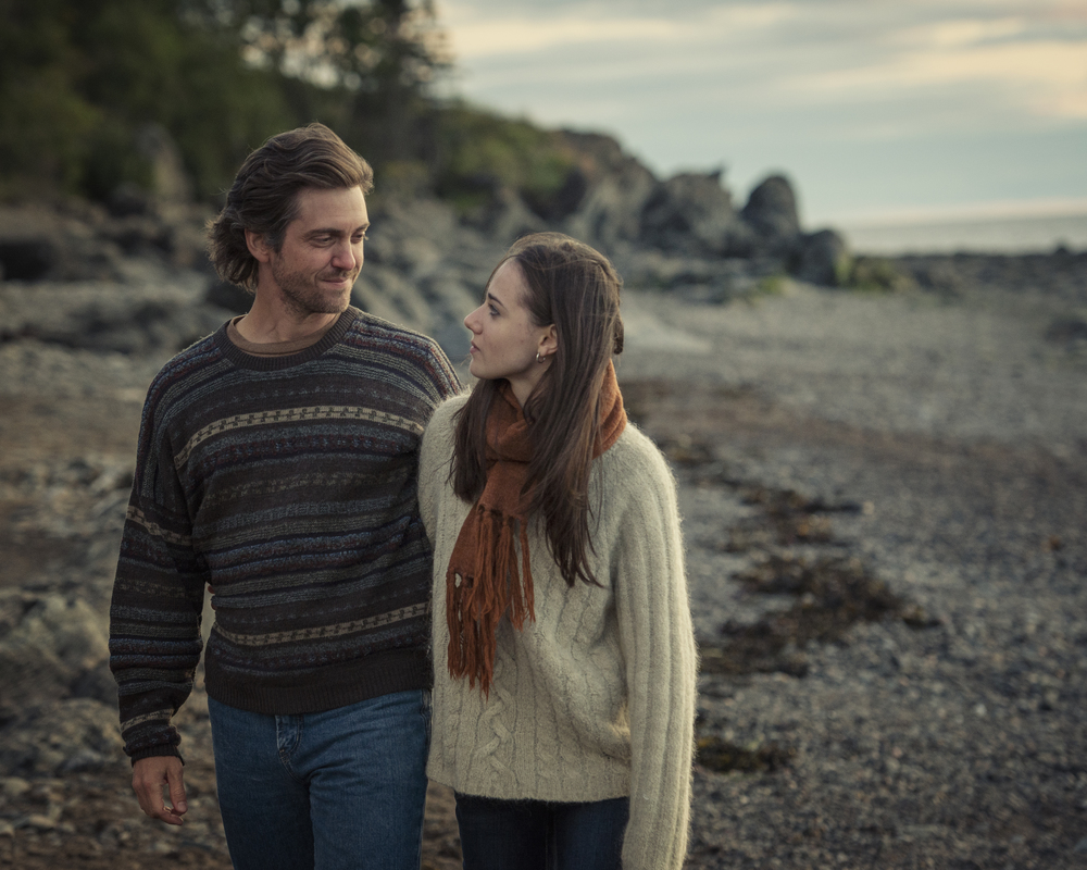 Maxim Gaudette and Karelle Tremblay are father and daughter in  Les   Êtres Chers.