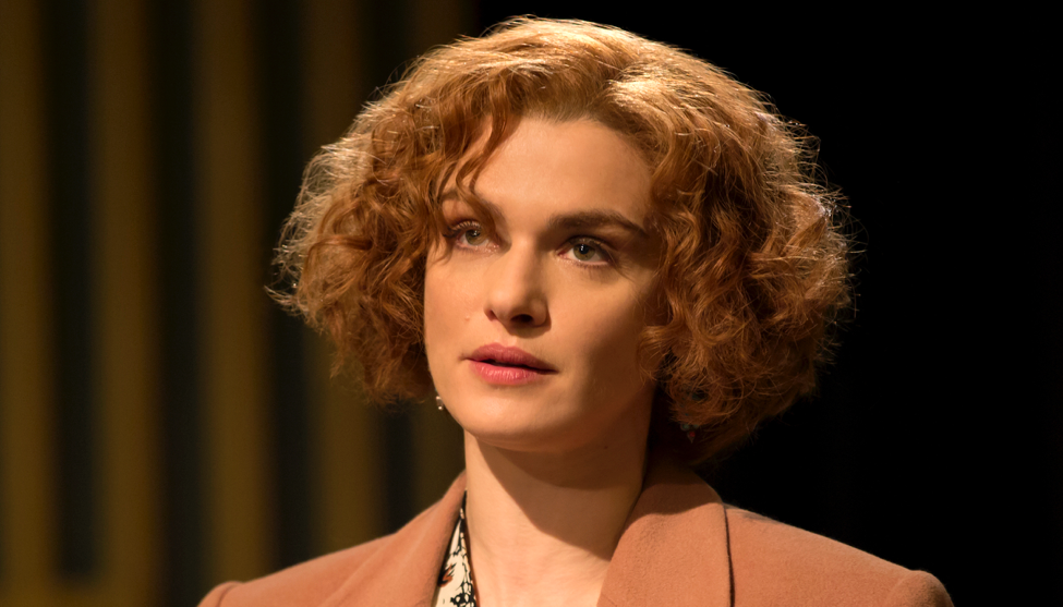 Rachel Weisz in Denial.