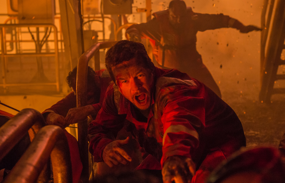 Mark Wahlberg in Deepwater Horizon.