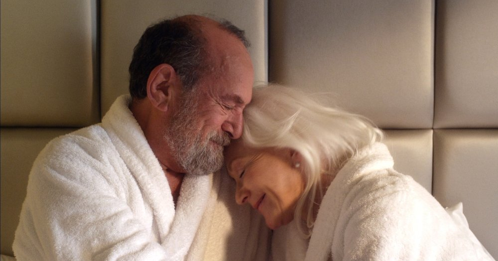 Stuart Margolin and Linda Thorson in The Second Time Around.