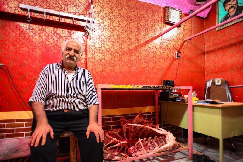 Butcher in Yazd