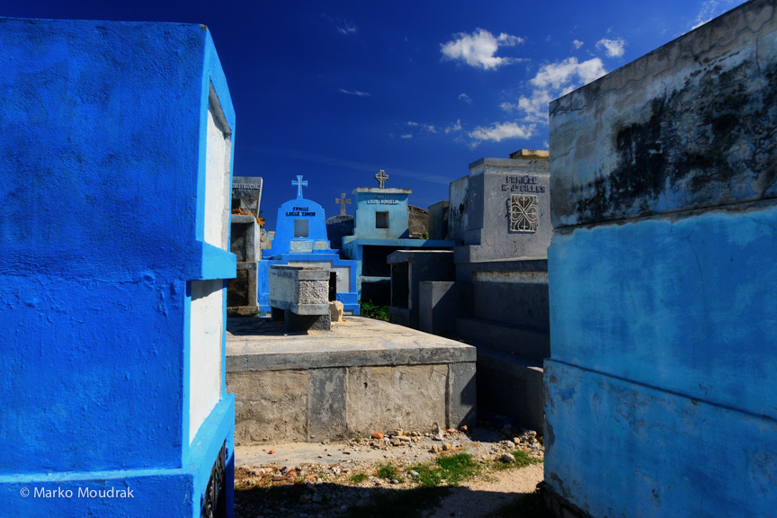 The Grand cemetery in Port au Prince