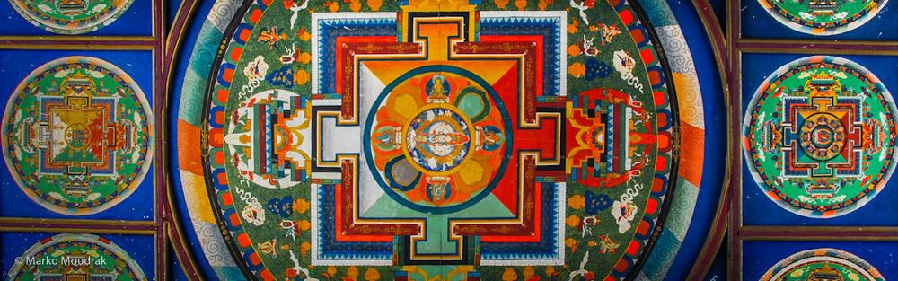 Mandala roof