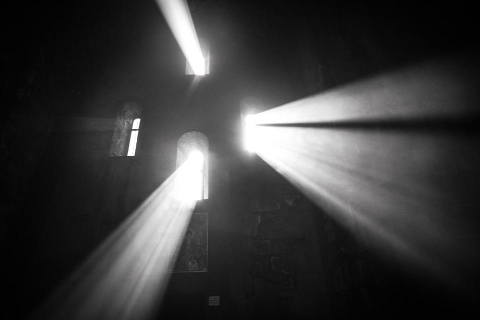 Divine Light In Tatev, Armenia