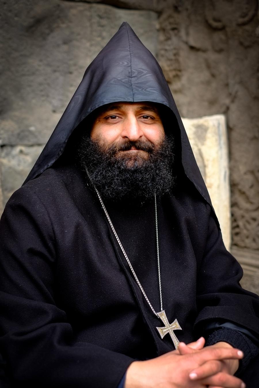 Armenian Priest, Tatev Monastery, Armenia